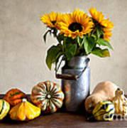 Autumn Art Print by Nailia Schwarz