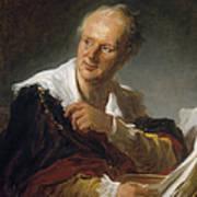Denis Diderot (1713-1784) Art Print