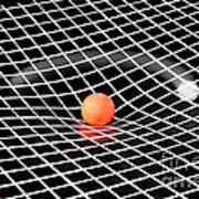 Gravity Simulation Art Print