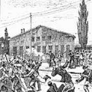 Great Railroad Strike, 1877 Art Print