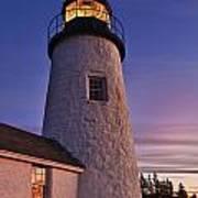 Pemaquid Point Lighthouse Art Print by John Greim