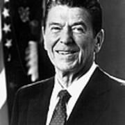 Ronald Reagan (1911-2004) Art Print by Granger