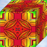 A Beautiful Cube Art Print
