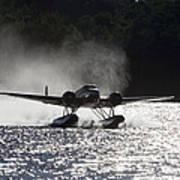 A Beechcraft D-18s Floatplane ,built Art Print