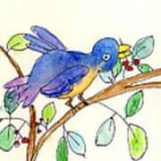 A Bird Art Print