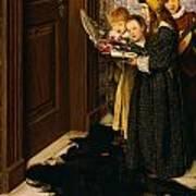 A Carol Art Print by Laura Theresa Alma-Tadema