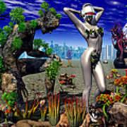 A Conceptual Idea Showing Nature Art Print