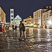 A Croatian Night Art Print