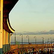 Playland Rye Beach Pier Art Print