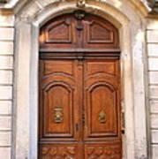 A Door In Arles Art Print