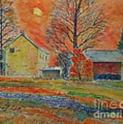 A Dover Pennsylvania Farm Art Print