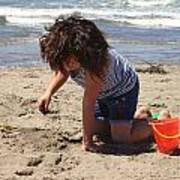 A Fine Afternoon At Ocean Beach San Francisco Art Print