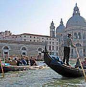 A Float In Venice Art Print