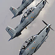 A Formation Of Iraqi Air Force T-6 Art Print