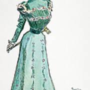 A Gibson Girl, 1899 Art Print