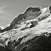 A Glacier In Jasper National Park Art Print