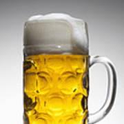 A Glass Mug Of Beer Art Print