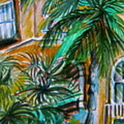 A Hotel In Sorrento Italy Art Print