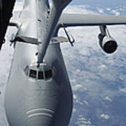 A Kc-10 Extender Prepares To Refuel Art Print by Stocktrek Images