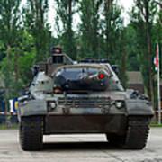 A Leopard 1a5 Mbt Of The Belgian Army Art Print by Luc De Jaeger
