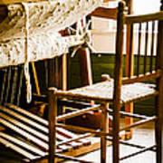 A Loom For Grandma Art Print