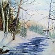 A Lovely Winter's Day Art Print