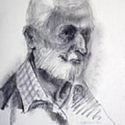 A Man Art Print