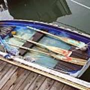 A Neat Boat Art Print by Hiroko Sakai