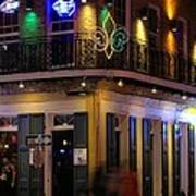 A Night In The French Quarter Art Print