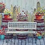 A Porch In Alaska Art Print
