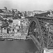 A Portion Of Porto And Its Large Art Print