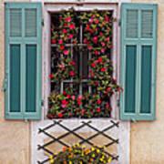 A Provence Window Art Print