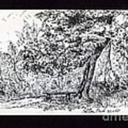 A Quiet Corner 1958 Art Print by John Chatterley