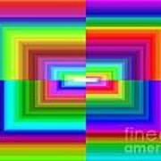 A Rainbow Is A Rainbow Is A Rainbow Art Print