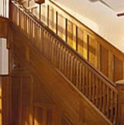 A Residential Building. An Oak Art Print