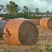 A Roll In The Hay Art Print