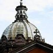 A Roman Church And Dome Art Print