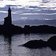 A Scenic Lighthouse Art Print
