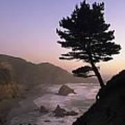 A Scenic View Of The Oregon Coast Art Print