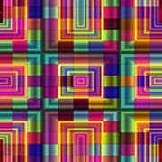 A Sense Of Squares Art Print