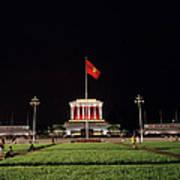 A Serene Ho Chi Minh Mausoleum Art Print