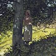 A Shady Spot Art Print by Winslow Homer