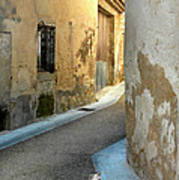 A Sidestreet In Provence Art Print