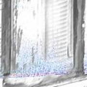A Simple Window Sketch Art Print