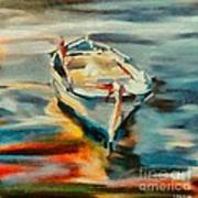 A Single Boat Art Print