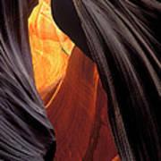 A Slot Canyon View Art Print
