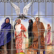 A Song For The Caged Birds Of Mauritania Art Print