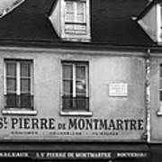 A St Pierre De Montmartre In Paris Art Print