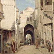 A Street In Jerusalem Art Print