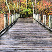 A Stroll Through Autumn Art Print by JC Findley